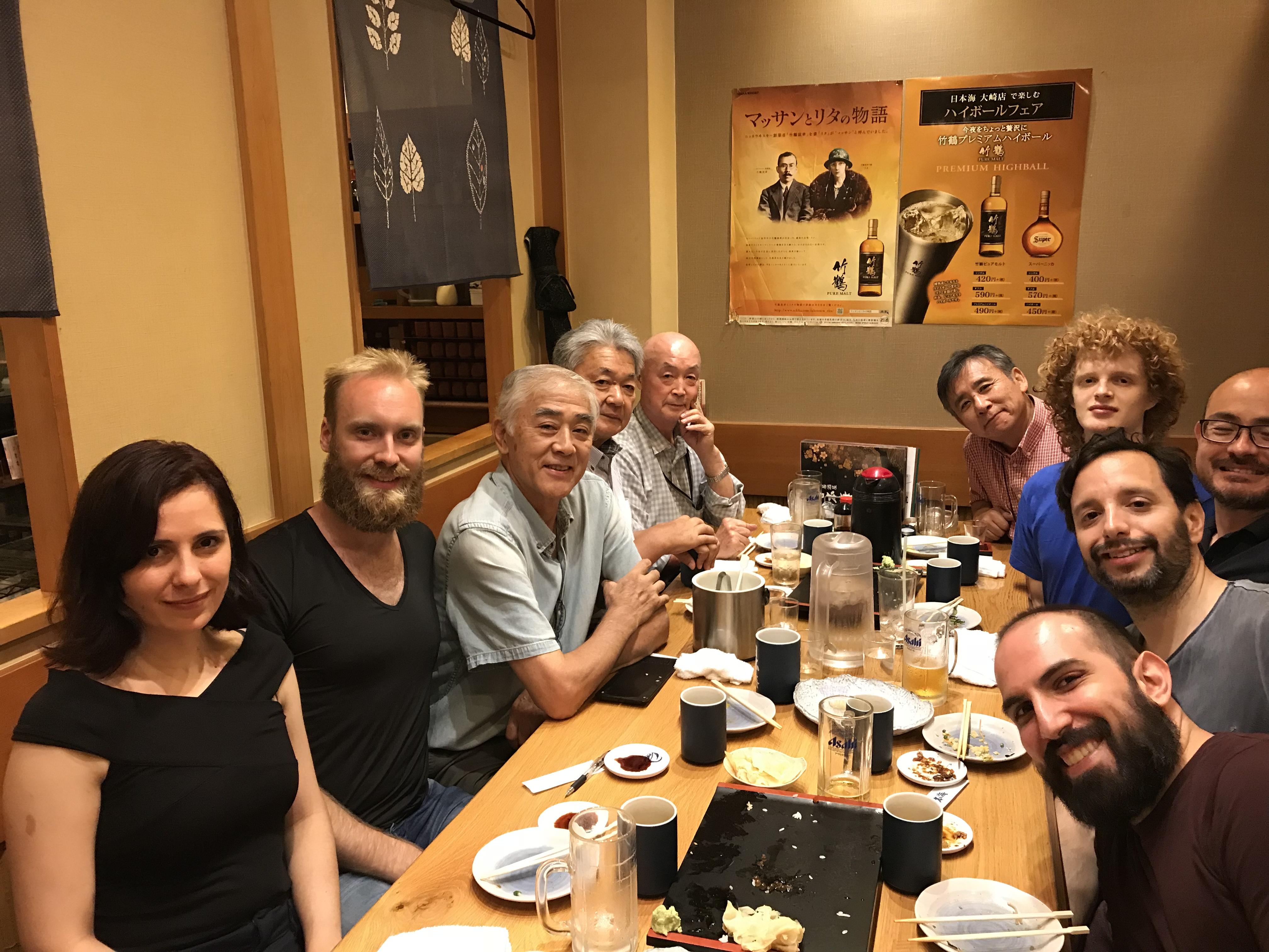 Onsen, sushi, KEIKO!!!