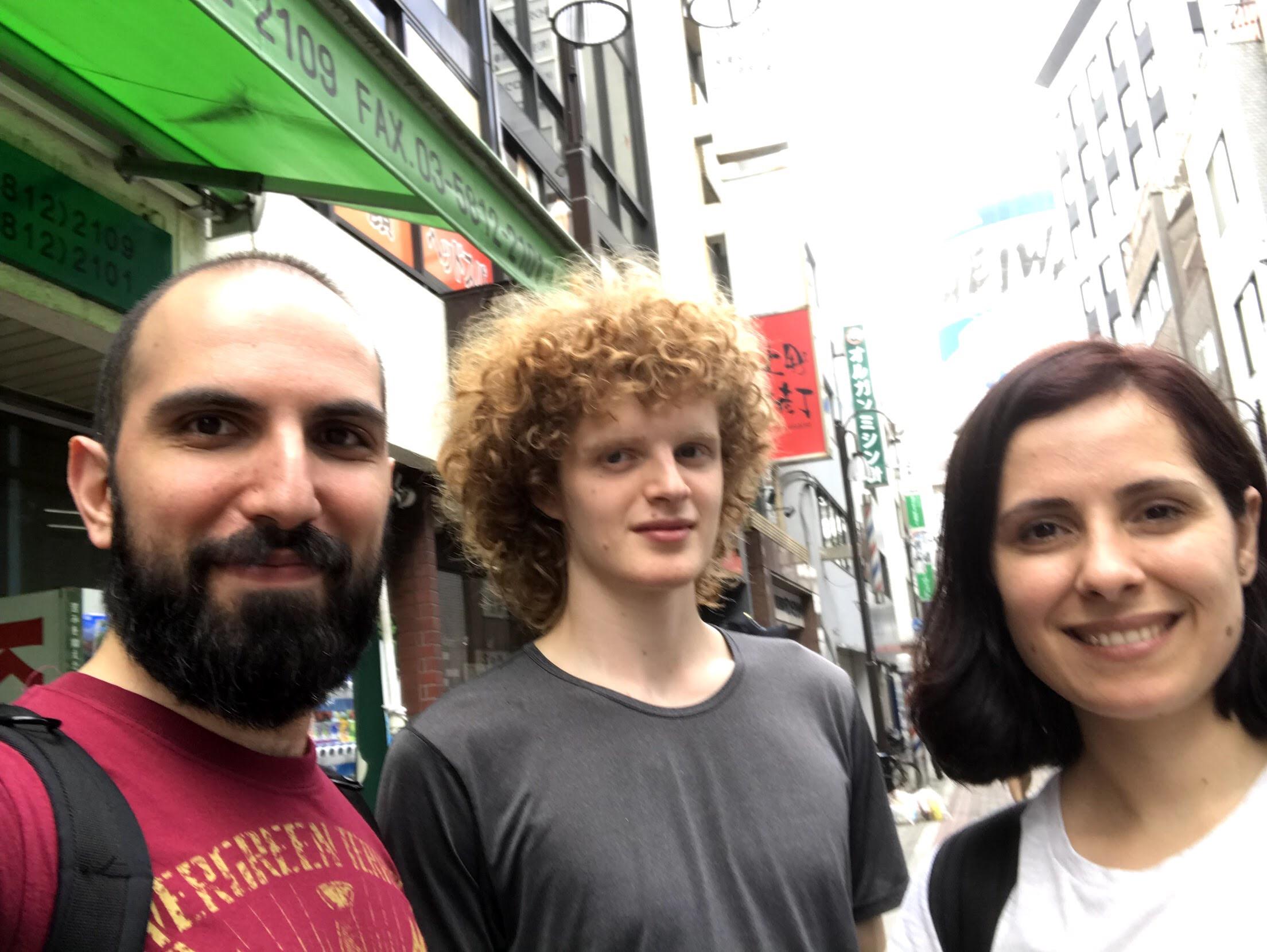 Svettig start på träningsresa i Tokyo!